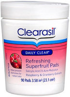CLEARASIL® Daily Clear Refreshing Superfruit Pads