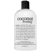 philosophy Coconut Frosting Shampoo, Shower Gel & Bubble Bath 16 oz/ 480 mL