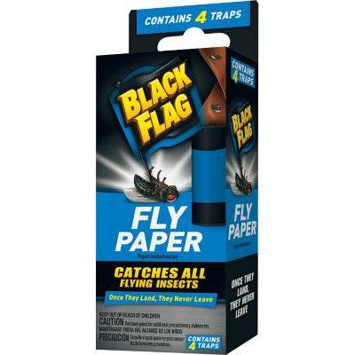 BLACK FLAG 4-Pack Fly Paper HG-11016