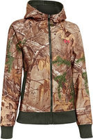 Under Armour Women's Camo Full-Zip Hoodie - Realtree Xtra (SMALL)