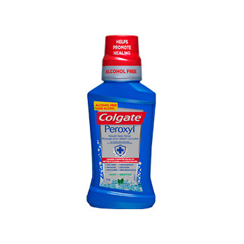 Colgate® Peroxyl® Mouth Sore Rinse Great Tasting Mint Flavour