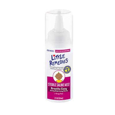 LITTLE REMEDIES® STERILE SALINE NASAL MIST