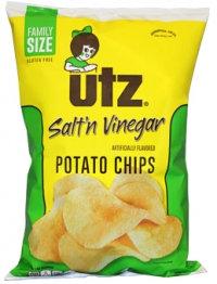 Utz Salt N Vinegar Flavored Potato Chips