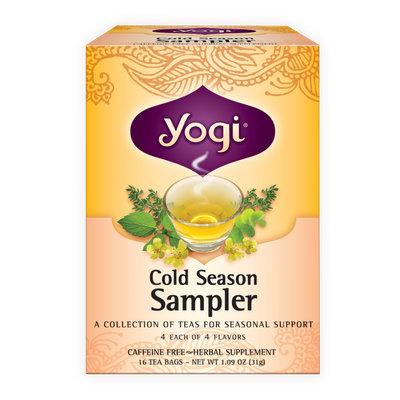 Yogi Cold Season Sampler Tea