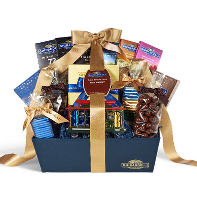 Ghirardelli San Francisco Chocolate Gift Basket