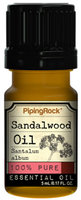 Piping Rock Sandalwood Essential Oil 5 ml 100% Pure Oil Therapeutic Grade