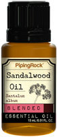 Piping Rock Sandalwood Essential Oil Blend 1/2 oz Blended Oil Therapeutic Grade