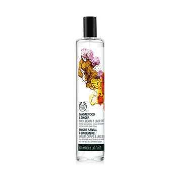 THE BODY SHOP® Sandalwood & Ginger Body, Room &Linen Spritz