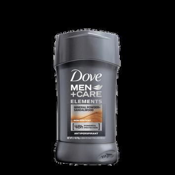 Dove Dove Men+Care Elements Mineral Powder + Sandalwood Antiperspirant Deodorant Stick