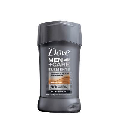 Dove Dove Men+Care Elements Mineral Powder + Sandalwood Antiperspirant Deodorant Stick