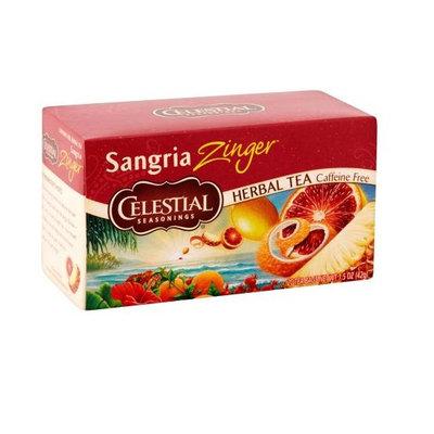 Celestial Seasonings® Sangria Zinger Herbal Tea Caffeine Free