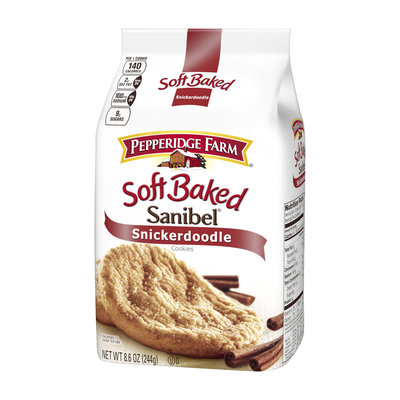Pepperidge Farm® Sanibel Soft Baked Snickerdoodle Cookies