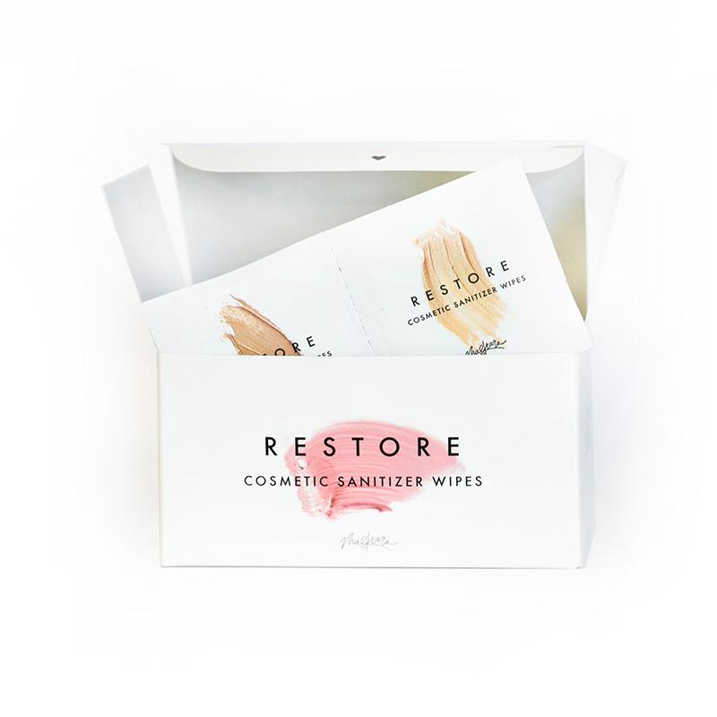 Maskcara Beauty Restore Cosmetic Sanitizer Wipes