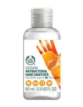 The Body Shop Satsuma Hand Sanitizer 2.0 fl oz