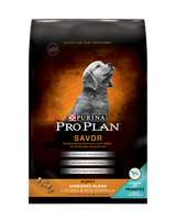 PRO PLAN®  SAVOR® PUPPY Shredded Blend Chicken & Rice Formula