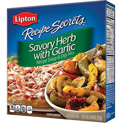 Lipton® Recipe Secrets Savory Herb with Garlic  Soup & Dip Mix