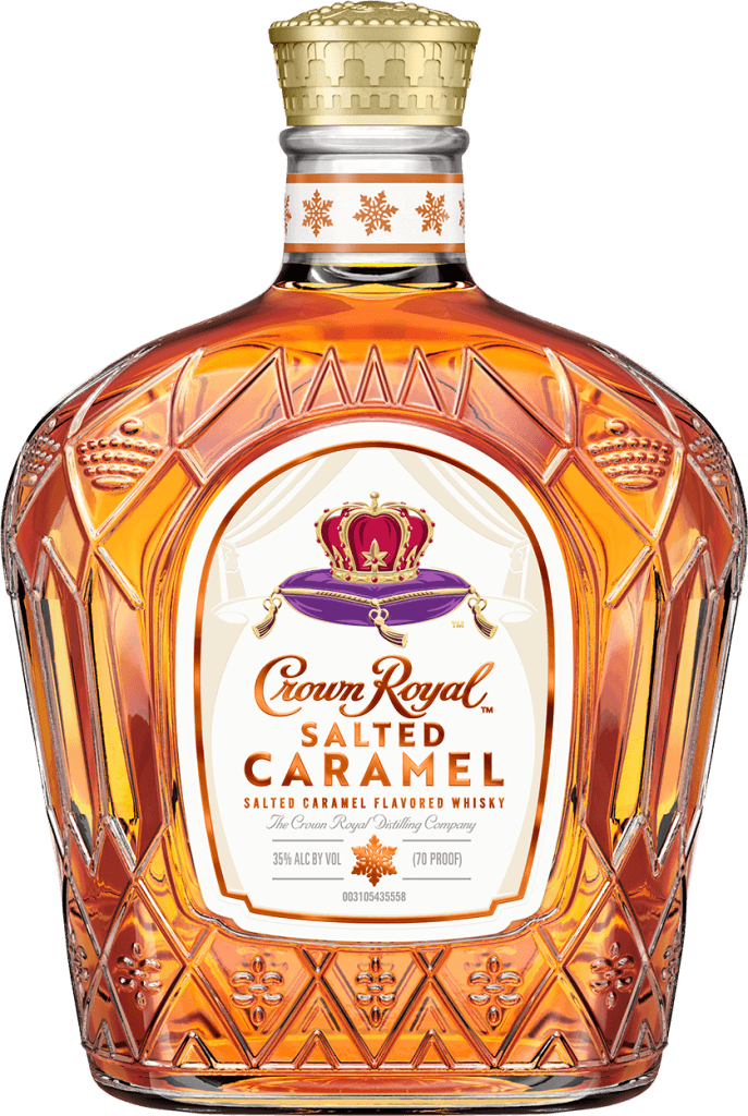 Crown Royal Canadian Salted Caramel Flavored Whisky