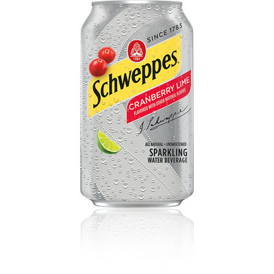 Schweppes® Cranberry Lime Sparkling Water Beverage