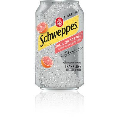 Schweppes® Pink Grapefruit Seltzer Water