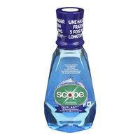 Scope Outlast Mouthwash, Long Lasting Peppermint, 500 mL