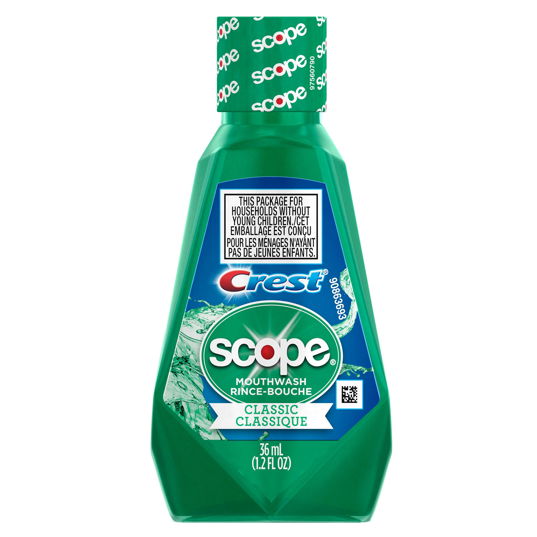 Crest Scope Classic Mouthwash Original Formula