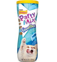 Friskies® Party Mix Favorites Sensational Seafood Flavor Cat Treats