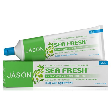 JĀSÖN Sea Fresh® Strengthening Anticavity CoQ10 Gel Toothpaste Fluoride Gel
