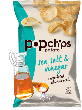 Popchips Sea Salt & Vinegar Potato Chip