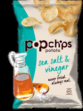 Popchips Sea Salt & Vinegar Potato Chip