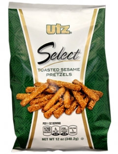 Utz Select Toasted Sesame Pretzels