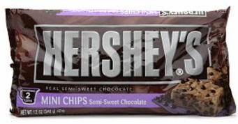 Hershey's Semi-sweet Chocolate Mini Chips