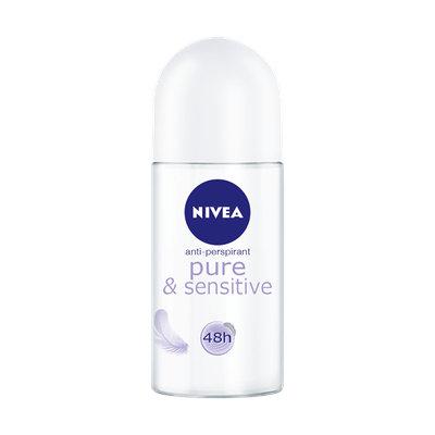 NIVEA Sensitive & Pure Deodorant Roll-on