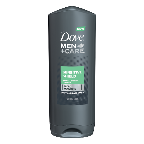 Dove Men+Care Sensitive Shield Body And Face Wash