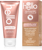 Hello Sensitivity Relief Fluoride Toothpaste Soothing Mint