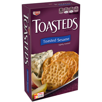 Keebler Toasteds Sesame Crackers