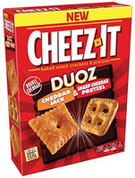 Cheez-It® Sunshine Duoz™ Cheddar Jack and Sharp Cheddar Pretzel