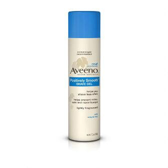 Aveeno® Positively Smooth shave Gel
