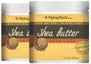Piping Rock Shea Body Butter (Pure) 2 Jars x 7 oz Butter