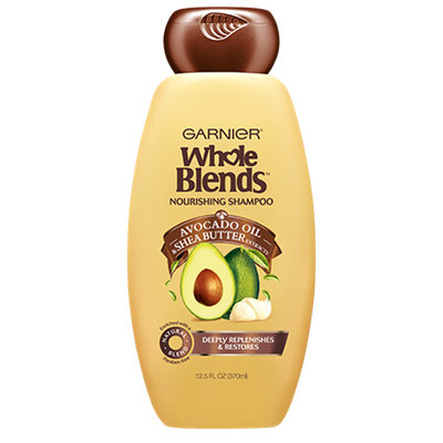 Garnier Whole Blends™ Nourishing Shampoo With Avocado Oil & Shea Butter Extracts