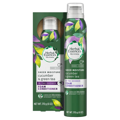Herbal Essences Cucumber & Green Tea Foam Conditioner