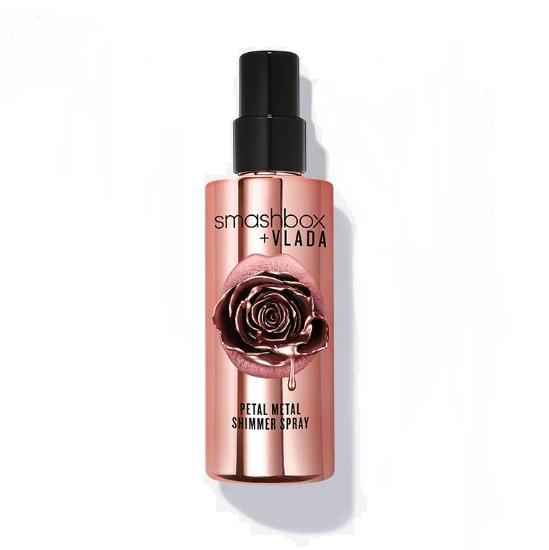 smashbox + VLADA Petal Metal Shimmer Spray