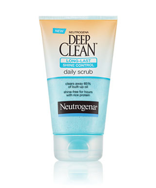 Neutrogena Deep Clean Daily Long-Last Shine Control Scrub