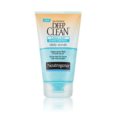 Neutrogena® Deep Clean® Long-Last Shine Control Daily Scrub
