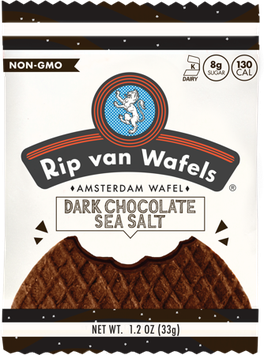 Rip Van Wafels: Dark Chocolate Sea Salt