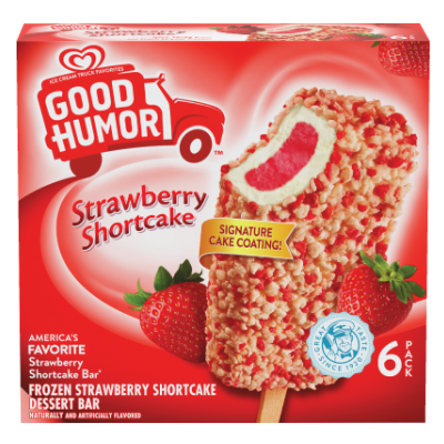 Good Humor® Strawberry Shortcake Dessert Bar