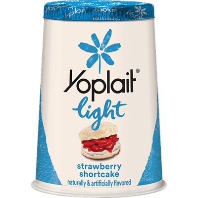 Yoplait® Light Strawberry Shortcake Fat Free Yogurt