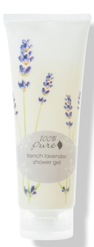 100% Pure French Lavender Shower Gel