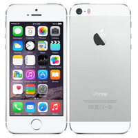 iPhone 5s 16GB Silver - Unlocked - Apple
