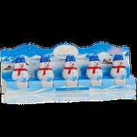Lindt Milk Chocolate Snowman Mini Figures