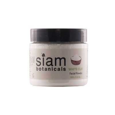 Siam Botanicals White Clay Facial Powder